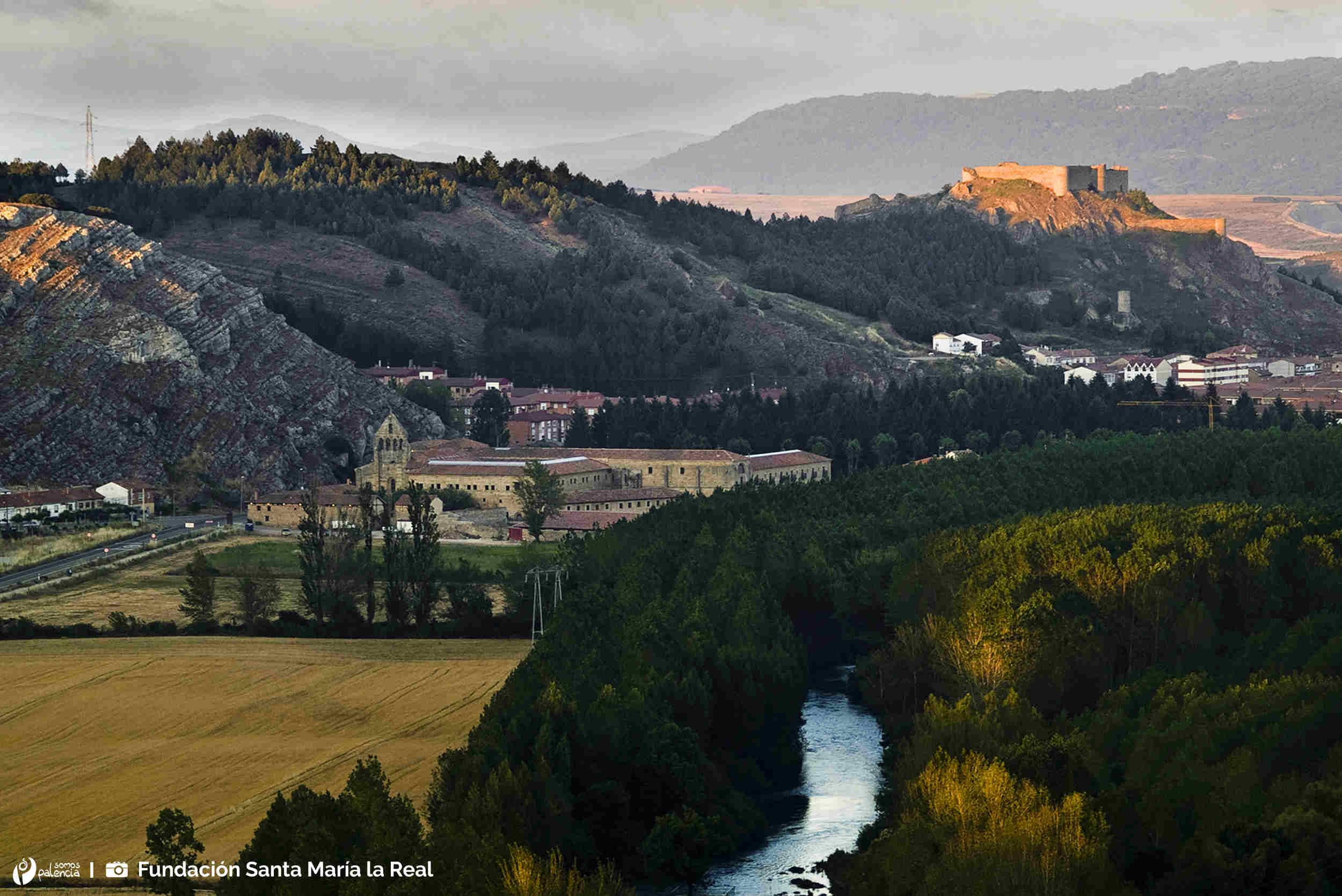 Monasterio Santa María la Real - Aguilar de Campoo - Palencia