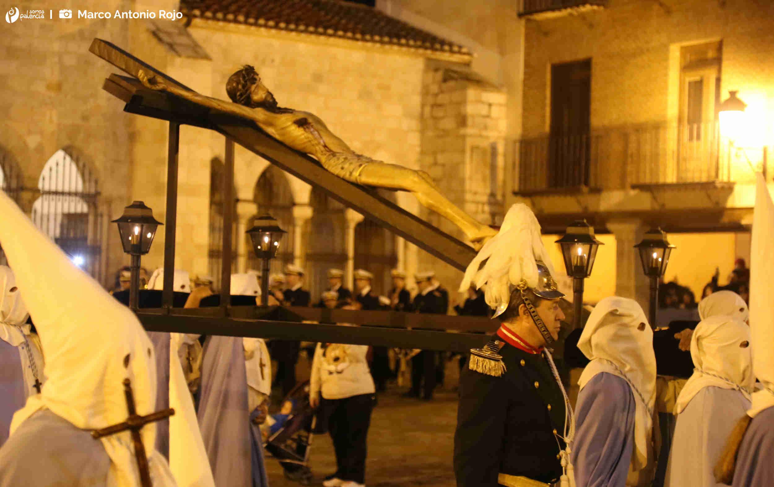 Procesión de las Cinco Llagas. Semana Santa Palencia. Lunes Santo