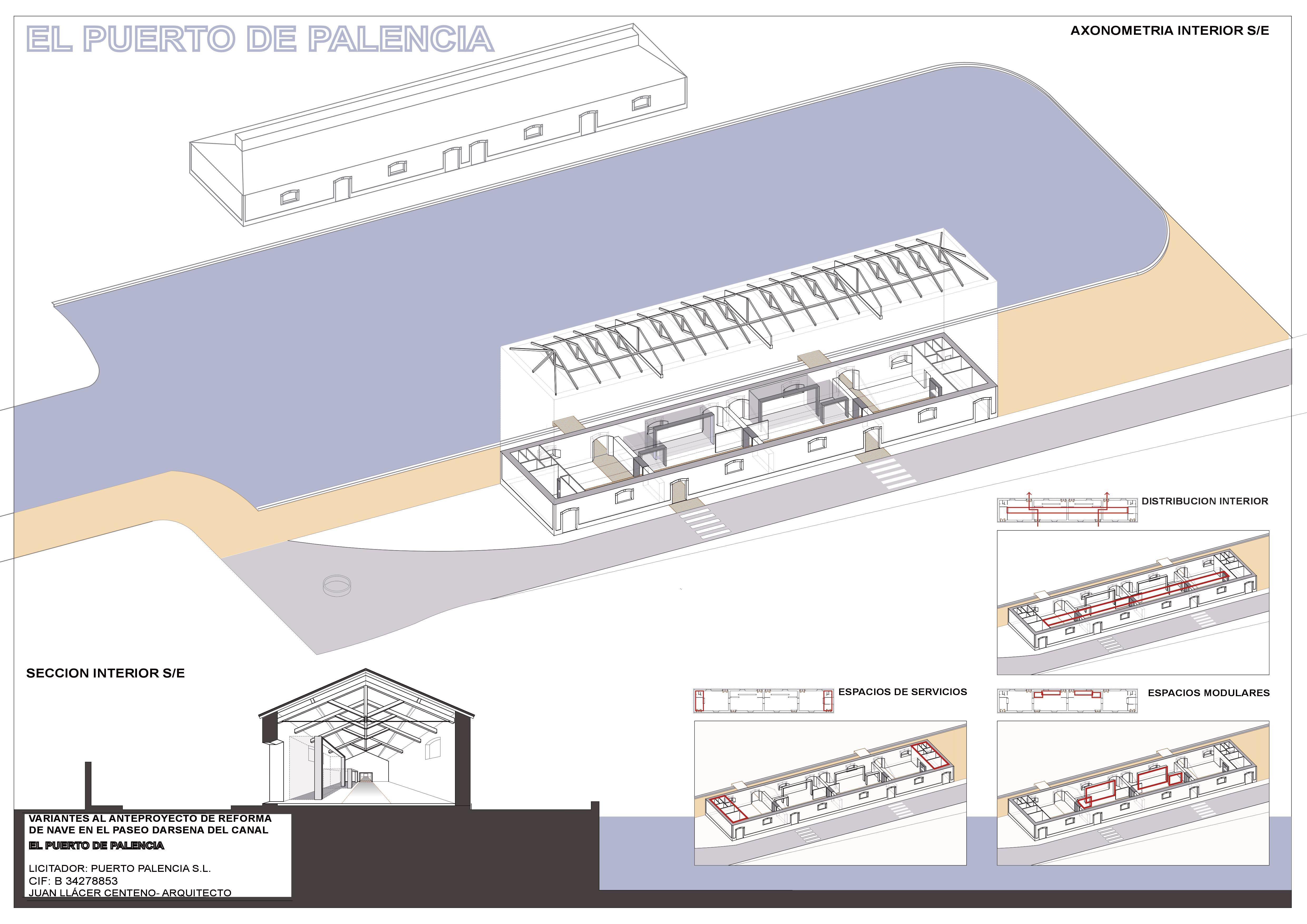 Proyecto de Ocio en la Dársena del Canal de Castilla de Palencia